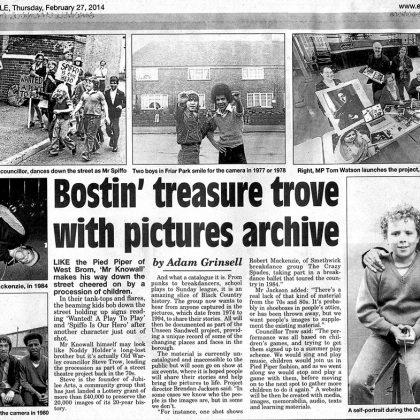 Jubilee Arts Archive press